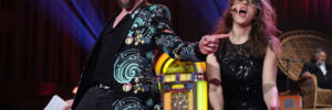 Herr von Keil und Britta Steffenhagen moderieren die Radioeins Radioshow