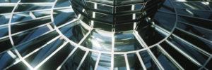 Bild auf das Parlament von der Reichstagskuppel aus